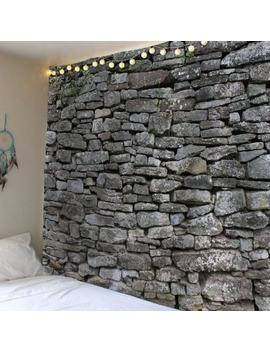 """<P>Stone Print Waterproof Wall Decor Tapestry</P><I Class=""""Icon Down Js Tap Up Down""""></I> by Dress Lily"""