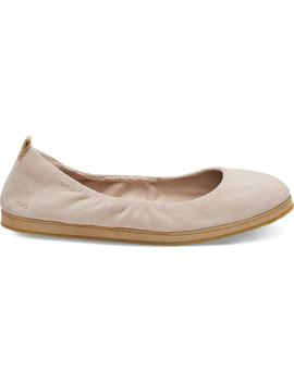 Blush Suede Women's Olivia Flats by Toms