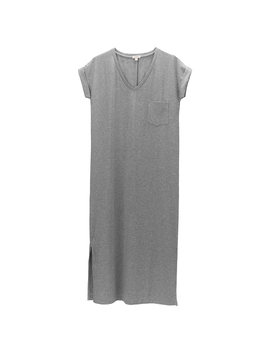 V Neck Midi Dress by Cuyana