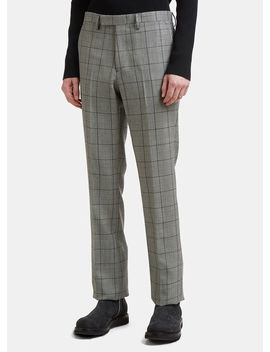 Classic Pants In Black by Raf Simons