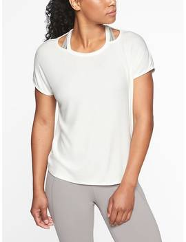 Glimpse Open Neck Tee by Athleta