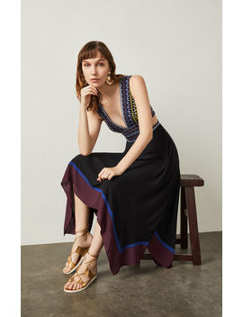 Embroidered Handkerchief Dress by Bcbgmaxazria