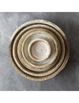 Earth Fired Clay Saucer by Terrain