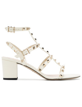 white-rockstud-leather-sandals by valentino
