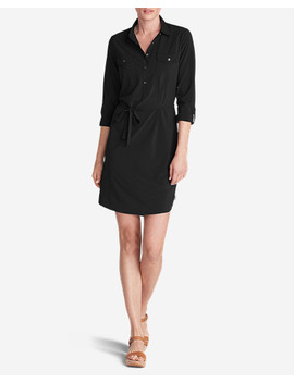 Women's Departure Long Sleeve Shirt Dress by Eddie Bauer