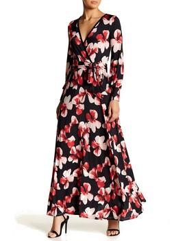 Maxed Long Sleeve Maxi Dress by American Twist