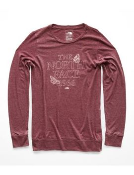 Women's Warm Autumn Tri Blend Crew Tee by The North Face