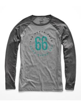 Women's Long Sleeve Malibae Tri Blend Tee by The North Face