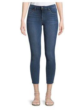 Jackie Skinny Crop Cut Hem Jeans by Joe's Jeans