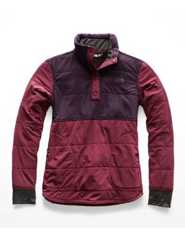 Women's Mountain Sweatshirt ¼ Snap by The North Face