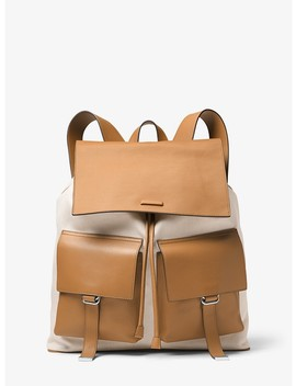 Billy Canvas Backpack by Michael Kors Mens