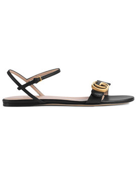 leather-double-g-sandal by gucci
