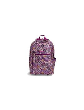 Lighten Up Large Rolling Backpack by Vera Bradley
