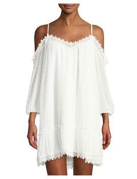 Millie Cold Shoulder Lace Shift Dress by Bb Dakota