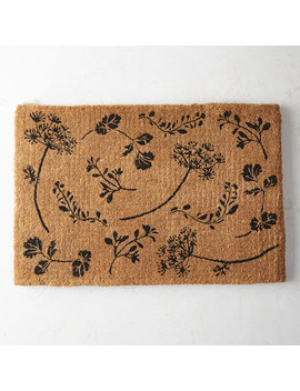 Herb Garden Doormat by Terrain