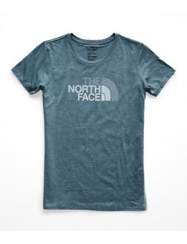 Women's Half Dome Tri Blend Crew Tee by The North Face