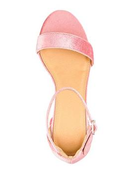 Cammy Block Heels Extra Wide Eee Fit by Simply Be