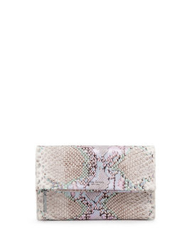 Girls Night Out Snake Embossed Clutch by Henri Bendel