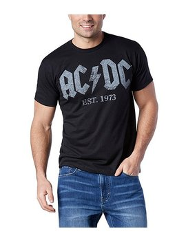Ac/Dc Est. 1973 T Shirt by Logo T Shirt