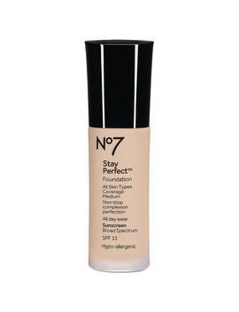 No7 Stay Perfect Foundation Spf 15,Warm Beige1.0 Oz. by Walgreens