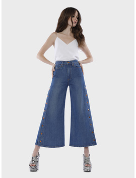 Gorgeous Crop High Rise Wide Leg Jean by Alice And Olivia