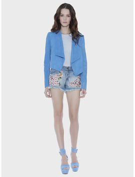 Amazing Embroidered Vintage Short by Alice And Olivia