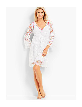 Allover Lace Cover Up by Talbots