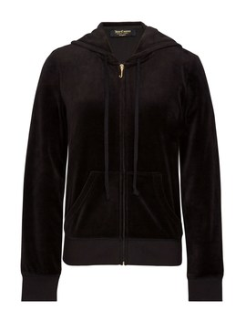 Crystal Starburst Velour Robertson Jacket by Juicy Couture