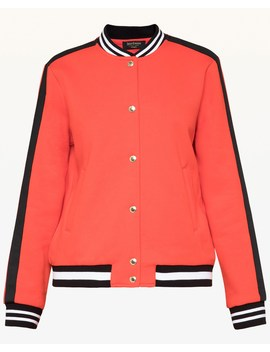 Luxe Tiger Patch Bomber Jacket by Juicy Couture