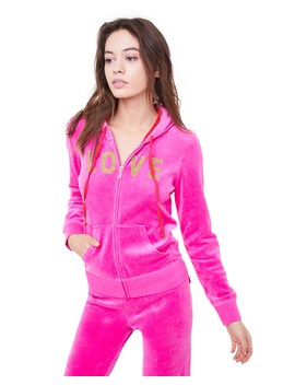 Velour Love Juicy Robertson Jacket by Juicy Couture