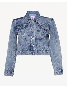 Jxjc Studded Acid Wash Denim Jacket by Juicy Couture