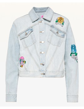 Jxjc Tattoo Patch Denim Jacket by Juicy Couture