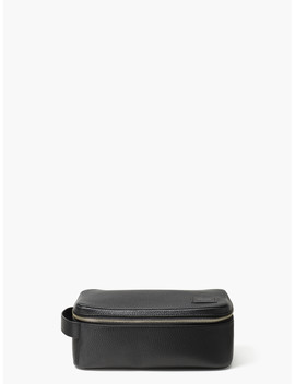 Pebbled Leather Dopp Kit by Kate Spade