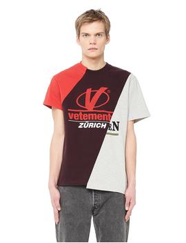 Men's Cut Up Cotton T Shirt by Vetements