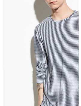 Feeder Stripe Long Sleeve by Vince