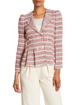 Knit Tweed Blazer by Rebecca Taylor