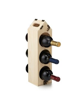 Rack Pack Convertible Wine Rack by Uncommon Goods
