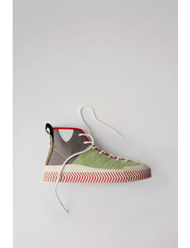Colour Blocked Sneakers Multi Pistachio by Acne Studios