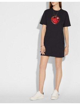 Disney X Coach Poison Apple T Shirt Dress by Coach
