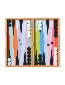 Colorplay Backgammon Set by Mo Ma