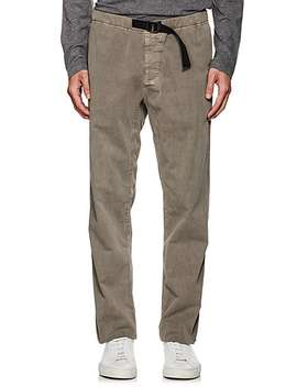 Cotton Relaxed Belted Pants by James Perse