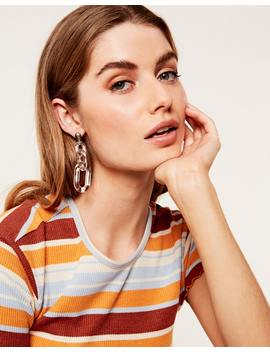 Perspex Chain Earrings by Glassons
