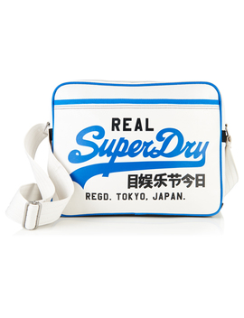 Mashed Up Alumni Bag by Superdry