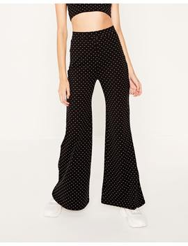 Flare Spotted Pants by Glassons