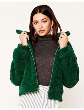 Crop Borg Jacket by Glassons