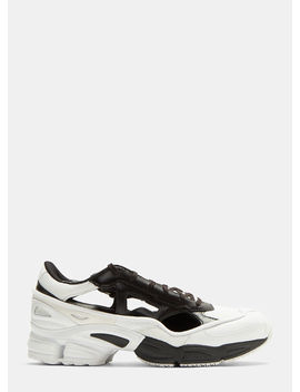 Replicant Ozweego Sneakers In White/Black by Adidas By Raf Simons