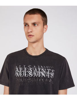 Imprinted Crew T Shirt by Allsaints