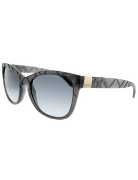 Be 4219 35818g 56 Matte Grey Rectangle Sunglasses by Burberry