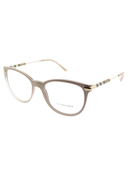 Be 2255q 3656 53mm Top Transparent On Beige Square Eyeglasses by Burberry