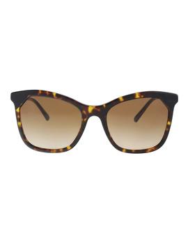 Be4263 370813 Dark Havana/ Black Butterfly Sunglasses by Burberry